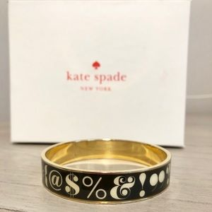 "RARE Kate Spade ""Pardon My French"" Idiom Bangle"
